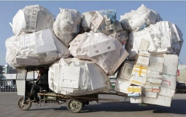 Polystyrene recycling in SA increased by 19 % during 2019