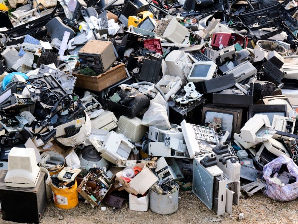 Electronic waste is world's fastest-growing domestic waste stream