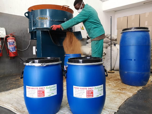 Nampak Rigids teams up with Bokashi Bran to provide cost-effective recycling for commercial kitchens