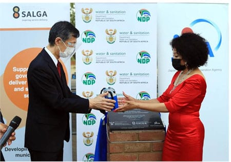 Japan hands over training centre to boost South African water sector