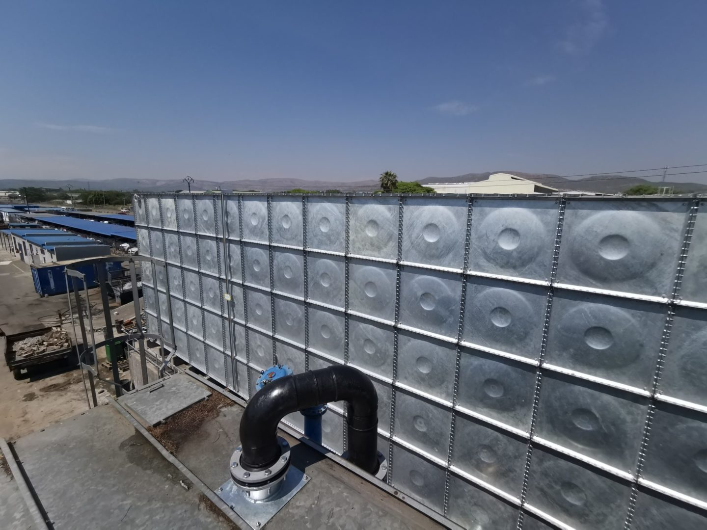 Water security for hospitals